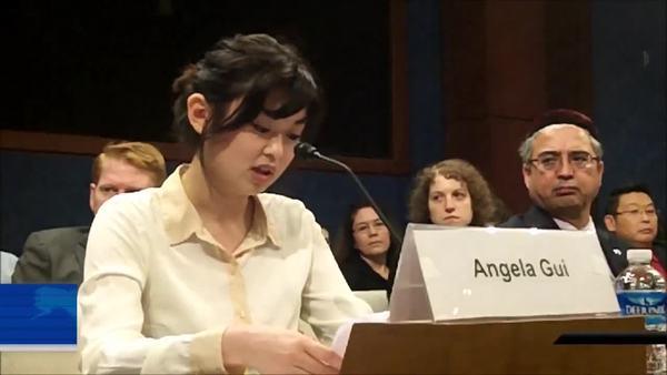桂民海女儿:无听闻父亲要放弃瑞典国籍