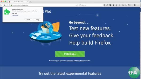 翻墙问答:Firefox推出另类翻墙新技术