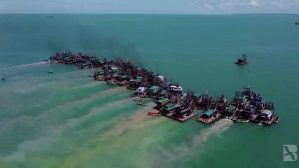 Indonesia's Tin Miners Target the Sea, Angering Fishermen