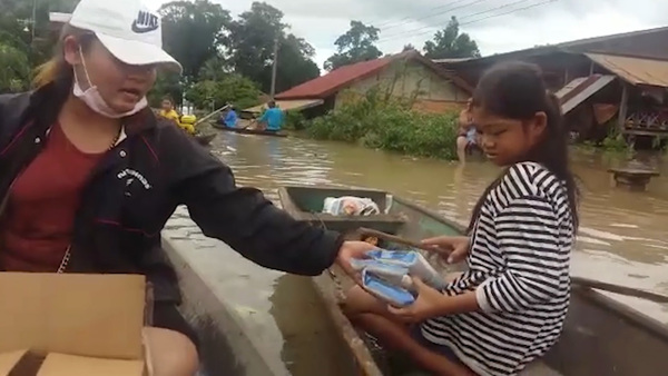 Flooding in Laos Kills 14