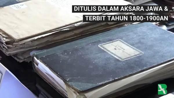 Usaha Keras Digitalisasi Naskah Kuno Indonesia