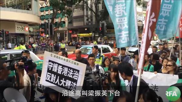 反释法大游行