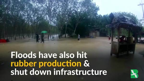 Southern Thailand Struggles with Deadly Floods