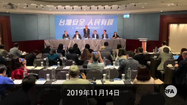 韩国瑜拒接受一国两制  提「反港独、双普选」解决香港问题