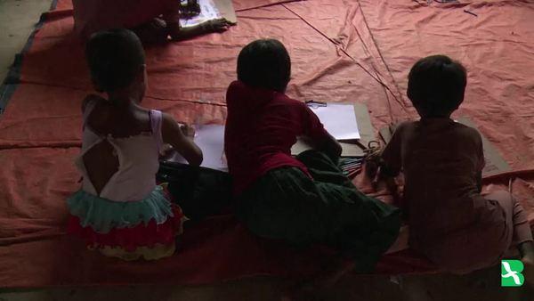 By The Hundreds, Rohingya Children Reach Bangladesh Alone