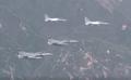 미 F-22 전투기 편대 한반도 전개