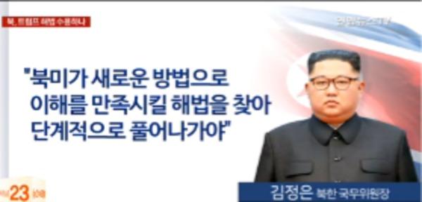 김 위원장 '새로운 비핵화 방법' 언급