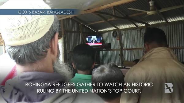 Rohingya Refugees on ICJ Ruling: 'We thank them all'