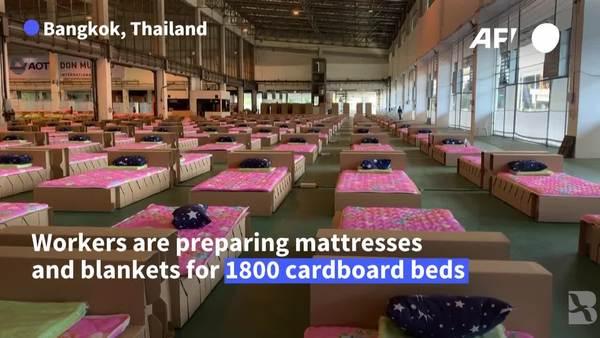 Thailand Sets Up COVID-19 Hospital at Bangkok Airport