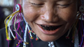 Myanmar Village Women Blacken Teeth