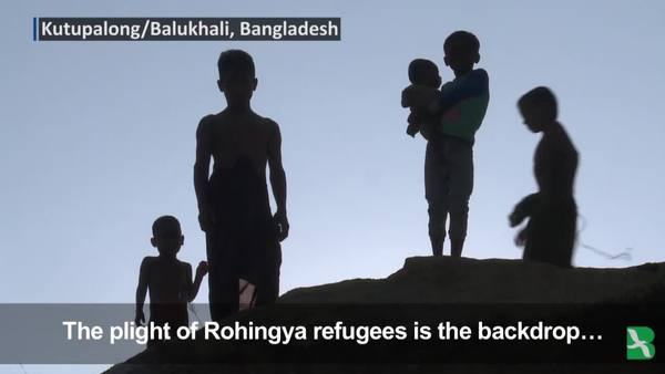 Rohingya Give Views on Pope
