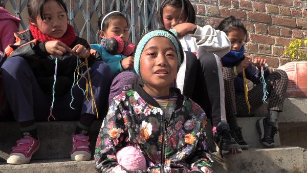 Tibetan Girl Stays Behind During School Vacation