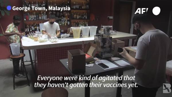 Pandemic Brews: Malaysian Bar Sells Vaccine-themed Cocktails