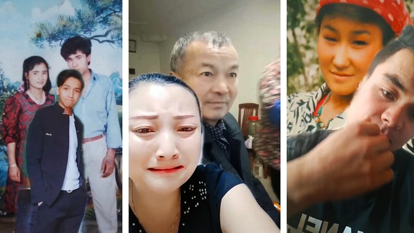 Uyghurs Post Videos Posing with Photos of Jailed Relatives