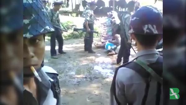 Myanmar Menahan Empat Polisi Terkait Video Pemukulan Terhadap Rohingya