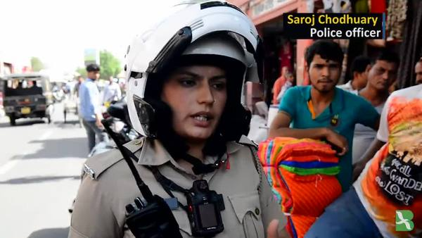 All-Women Police Units Hit Streets in Indian City of Jaipur