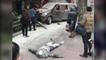 Van Hauling Gas Canisters Crashes in Shanghai
