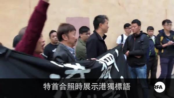中學生宣揚港獨遭校方警告  港獨團體抗議要求道歉