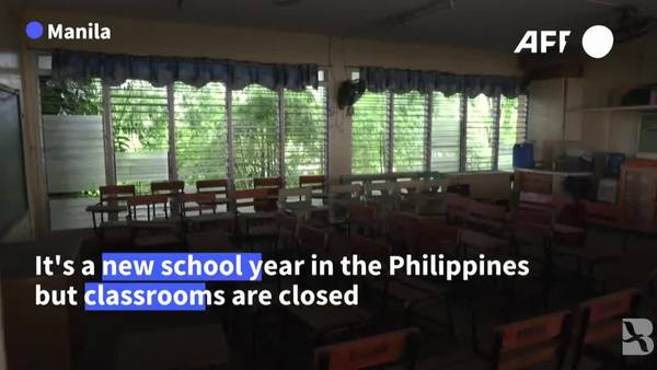 Filipino Kids Start Second Year of Remote Learning