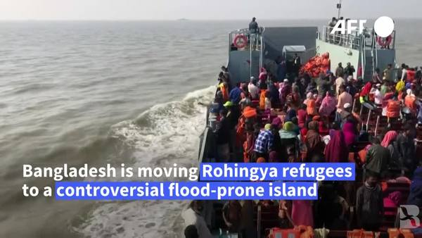 Bangladesh Sends New Batch of Rohingya Refugees to Bay of Bengal Isle
