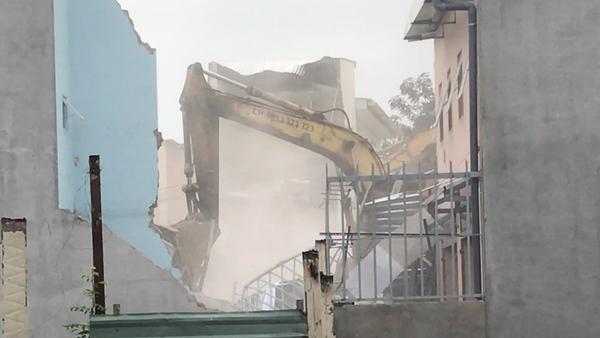 Authorities Demolish Homes in Ho Chi Minh City