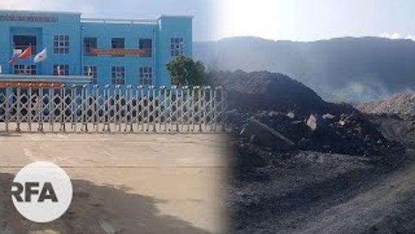 Ô nhiễm tại bãi thải mỏ than Nông Sơn: Dân bất lực!