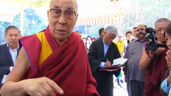 Dalai Lama Addresses RFA Reporters