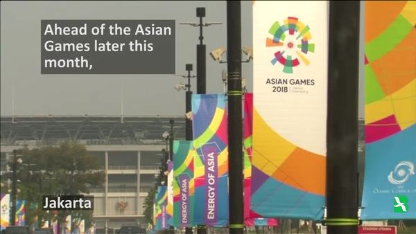Indonesia Ramps Up Security for Asian Games
