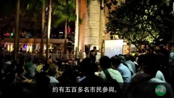 """香港學生和本土派團體 """"另起爐灶""""悼念六四"""