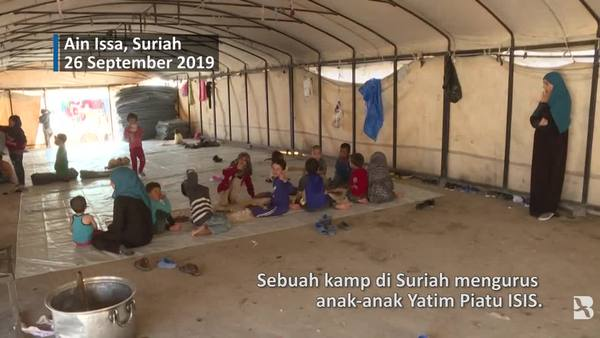Masa Depan Suram untuk Anak Yatim Piatu ISIS Di Kamp Suriah
