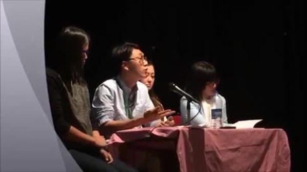 4港青年印度演講 向流亡藏人介紹香港政情