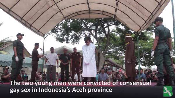 Aceh People 'Appreciate' Caning of Gay Men