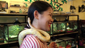 Cambodians Facing Fear at Reptile Café