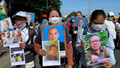 Protesters March to Cambodia's Royal Palace