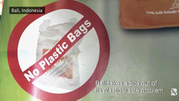 Indonesia: Bali Bans Single-use Plastics to Reduce Waste