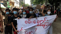 Scores March in Flash Anti-Coup Protest in Myanmar