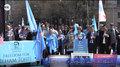 Вашингтон шәһиридә «уйғур әркинлик марши» тәнтәнилик өткүзүлди