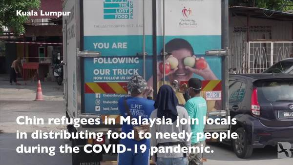 Chin Refugees Help Others, Themselves at Food Charity in Kuala Lumpur