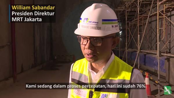 Menanti Selesainya Fase Pertama MRT, Warga Berharap Banyak