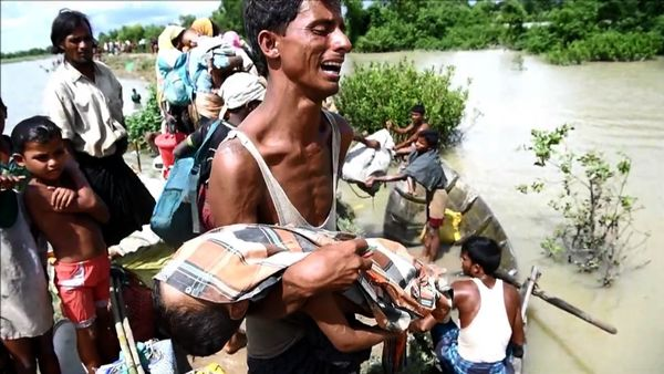 Rohingya Children Dying as Families Flee to Bangladesh