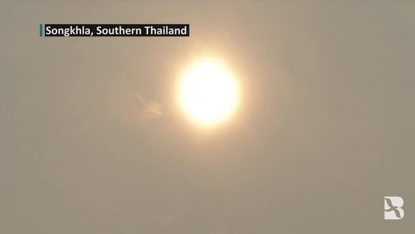 Haze from Indonesian Fires Reaches Southern Thailand