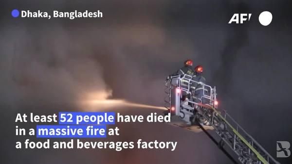Bangladesh Factory Fire Kills Scores