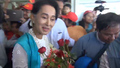 Suu Kyi Campaigns in Myanmar's Troubled Rakhine State