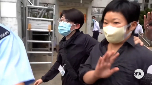 Hong Kong Police Arrest TV Producer Over Mob Attack Documentary