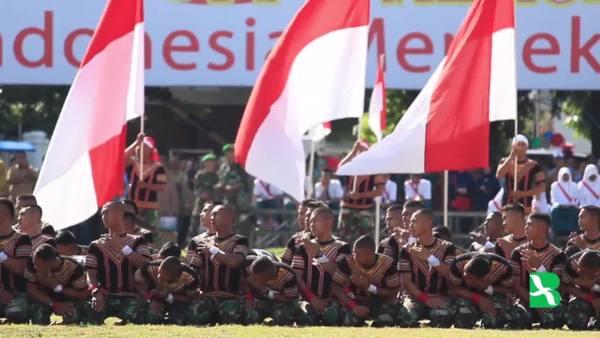 Tari Saman Massal Memeriahkan Perayaan 17 Agustus Di Aceh