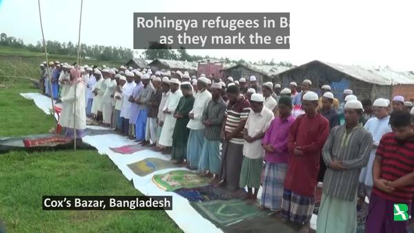 For Rohingya Refugees in Bangladesh, a Tearful Eid