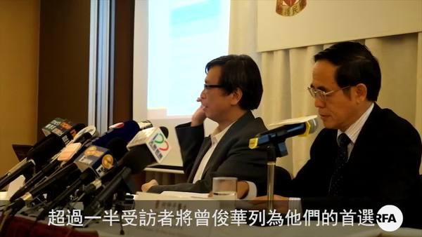 香港特首選舉成建制泛民兩派之爭