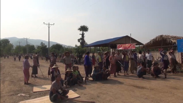 17 Injured in Clash at Myanmar Factory Construction Site