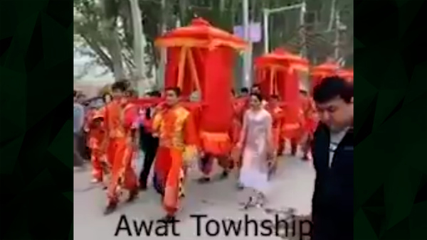 "Video of Mass Wedding Shows ""Imposition of Chinese Marriage Customs"" on Uyghurs"
