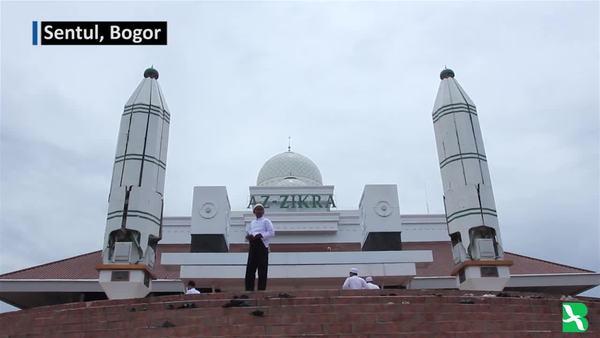 Az-zikra, Masjid Ramah Lingkungan